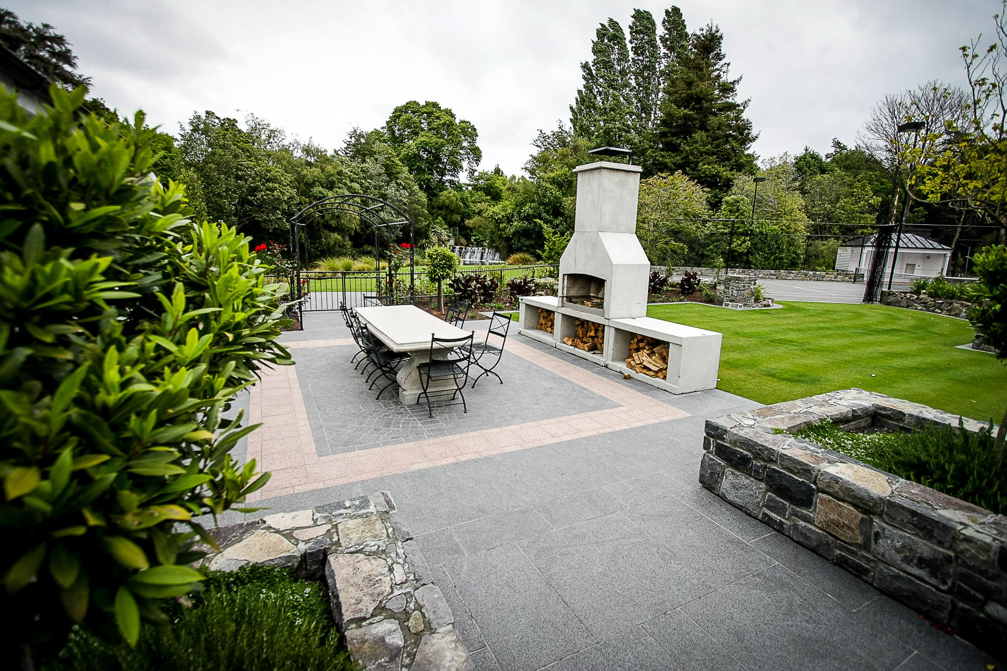 fendalton residential home landscaping kamo marsh